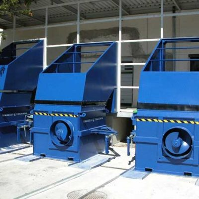 SV – Series static SCREW COMPACTORS