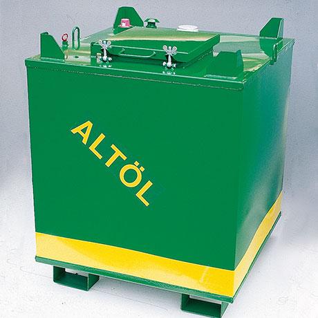 Altölbehälter Werner & Weber - Behälter zum lagern brennbarer Flüssigkeiten