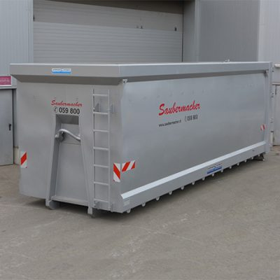 Hardox Container – Smooth Sidewalls