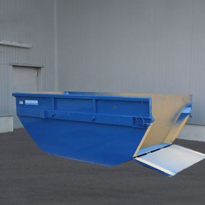 Open Skip KM with drop door