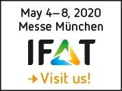 Werner Weber nimmt an der IFAT Messe in München 2020 teil