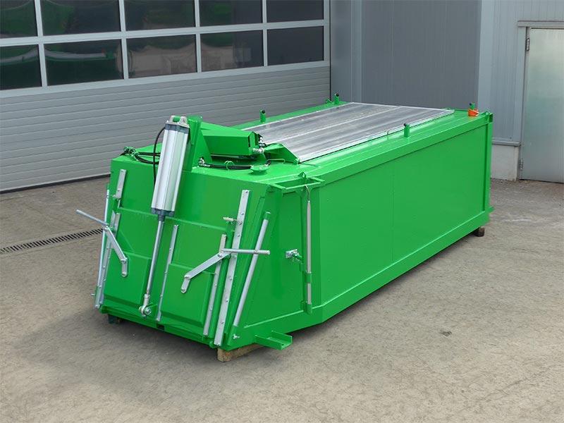 WERNER & WEBER Asphaltcontainer sind isolierte Thermo-Container für den Transport von Asphalt.