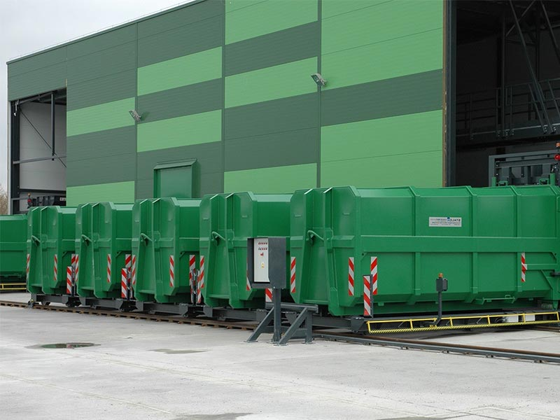 Container Verfahranlagen Werner & Weber