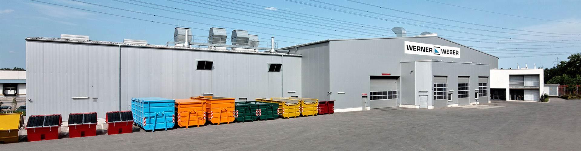 Werner & Weber entwickelt und produziert innovative Produkte zur Abfallsammlung, Entsorgungsanlagen und Mülltransferstationen. Entwicklung und Produktion von Produkten zur Abfallsammlung sowie Projektierung von und Handel mit Entsorgungsanlagen und Mülltransferstationen