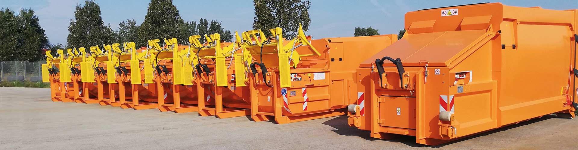 Die Firma Werner & Weber befasst sich mit der Entwicklung, der Produktion und dem Verkauf von innovativen Produkten zur Abfallsammlung.