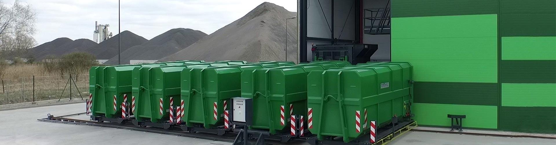 Werner & Weber entwickelt und produziert innovative Produkte zur Abfallsammlung, Entsorgungsanlagen und Mülltransferstationen.
